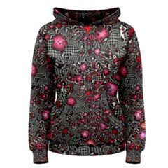 Sci Fi Fantasy Cosmos Red  Women s Pullover Hoodies