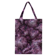 Alien Dna Purple Classic Tote Bags