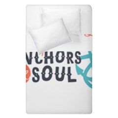 Hope Anchors The Soul Nautical Quote Duvet Cover (single Size)
