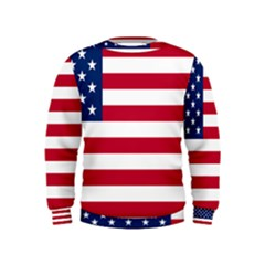 Usa1 Boys  Sweatshirts