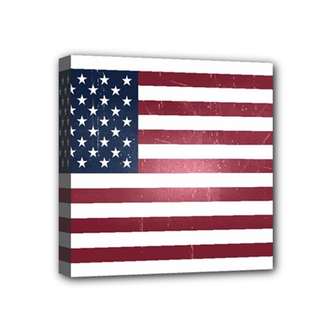 Usa3 Mini Canvas 4  X 4  by ILoveAmerica