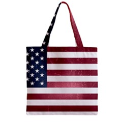 Usa3 Zipper Grocery Tote Bags by ILoveAmerica