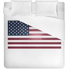 Usa3 Duvet Cover (king Size) by ILoveAmerica