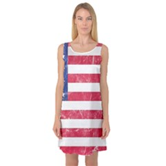Usa8 Sleeveless Satin Nightdresses by ILoveAmerica