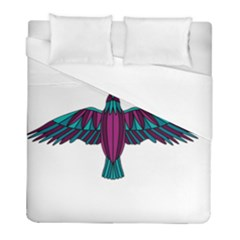 Stained Glass Bird Illustration  Duvet Cover Single Side (twin Size)