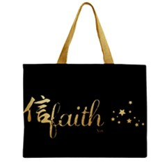 Faith (xin) 3 Mini Tote Bag by walala