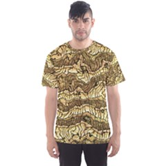 Alien Skin Hot Golden Men s Sport Mesh Tees by ImpressiveMoments