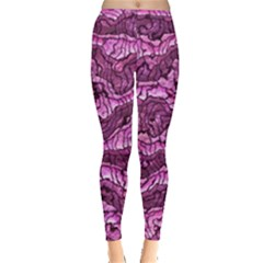 Alien Skin Hot Pink Women s Leggings by ImpressiveMoments