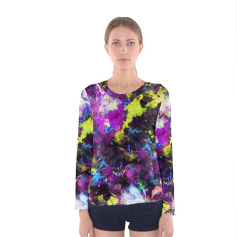 Colour Splash G264 Women s Long Sleeve T-shirts by MedusArt