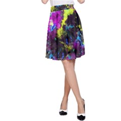 Colour Splash G264 A-line Skirts by MedusArt