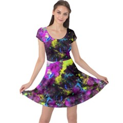 Colour Splash G264 Cap Sleeve Dresses by MedusArt