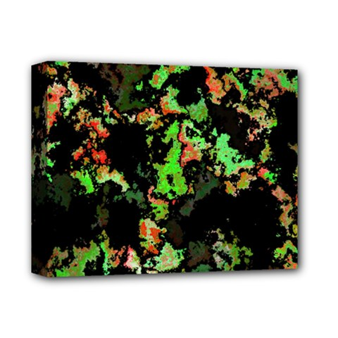 Splatter Red Green Deluxe Canvas 14  X 11  by MoreColorsinLife