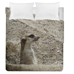 Adorable Meerkat Duvet Cover (full/queen Size)