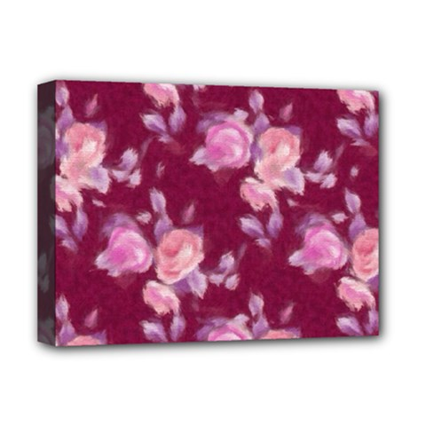 Vintage Roses Deluxe Canvas 16  X 12   by MoreColorsinLife