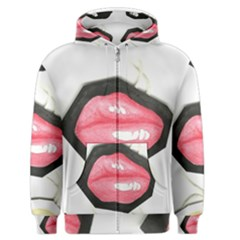 Troislips0002 Men s Zipper Hoodies by northerngardens