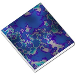 Unique Marbled Blue Small Memo Pads by MoreColorsinLife