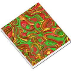 Art Deco Red Green Small Memo Pads
