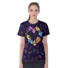 Eeveeloution Tshrit F Women s Cotton Tee