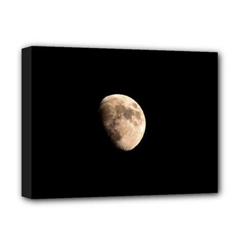 Half Moon Deluxe Canvas 16  X 12   by timelessartoncanvas
