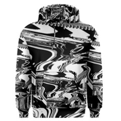 Bw Glitch 1 Men s Pullover Hoodies by MoreColorsinLife