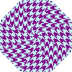 Houndstooth 2 Purple Hook Handle Umbrellas (large) by MoreColorsinLife