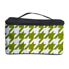 Houndstooth Green Cosmetic Storage Cases