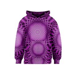 Swirling Dreams, Hot Pink Kid s Pullover Hoodies by MoreColorsinLife