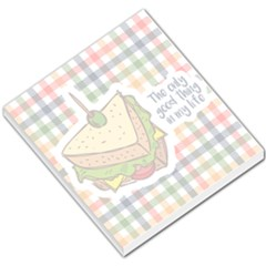 Sandwich Small Memo Pad by typewriter