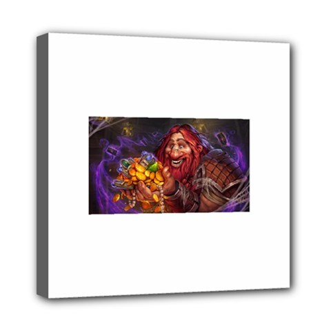 Hearthstone Gold Mini Canvas 8  X 8  by HearthstoneFunny