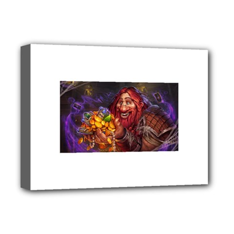 Hearthstone Gold Deluxe Canvas 16  X 12   by HearthstoneFunny