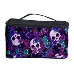Flowers And Skulls Cosmetic Storage Case