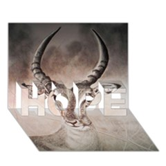 Antelope Horns Hope 3d Greeting Card (7x5)  by TwoFriendsGallery