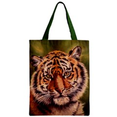 Tiger Classic Tote Bags by ArtByThree