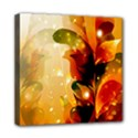 Awesome Colorful, Glowing Leaves  Mini Canvas 8  x 8  View1