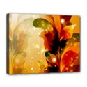 Awesome Colorful, Glowing Leaves  Canvas 14  x 11  View1