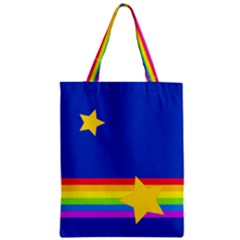 Rainbows And Stars Classic Tote Bag by Ellador