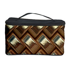 Metal Weave Golden Cosmetic Storage Cases by MoreColorsinLife