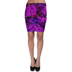 Artistic Cubes 2 Bodycon Skirts