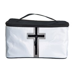 Red Christian Cross Cosmetic Storage Case by igorsin