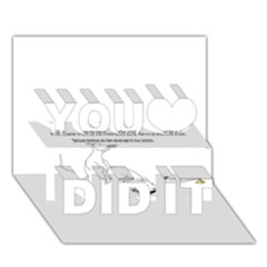 Better To Take Time To Think You Did It 3d Greeting Card (7x5)