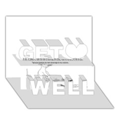 Better To Take Time To Think Get Well 3d Greeting Card (7x5)