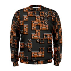 Brown Pieces  Men s Sweatshirt