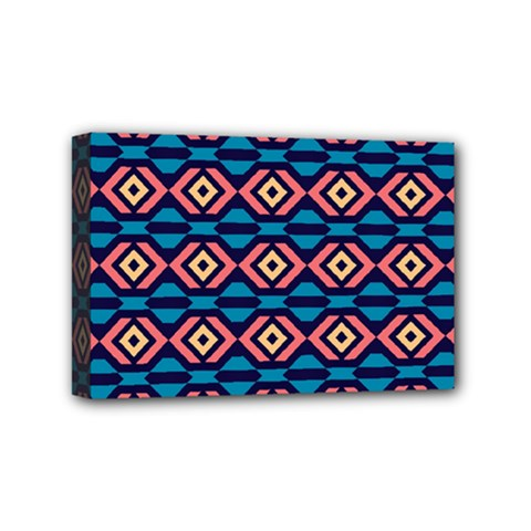 Rhombus  Pattern Mini Canvas 6  X 4  (stretched) by LalyLauraFLM
