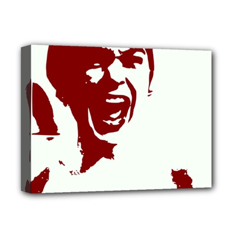 Psycho Deluxe Canvas 16  X 12   by icarusismartdesigns