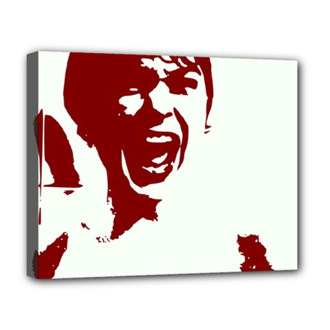 Psycho Deluxe Canvas 20  X 16   by icarusismartdesigns