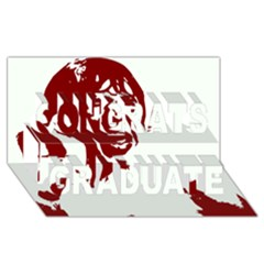 Psycho Congrats Graduate 3d Greeting Card (8x4)  by icarusismartdesigns