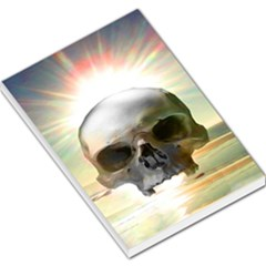 Skull Sunset Large Memo Pads by icarusismartdesigns