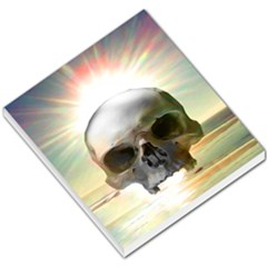 Skull Sunset Small Memo Pads by icarusismartdesigns