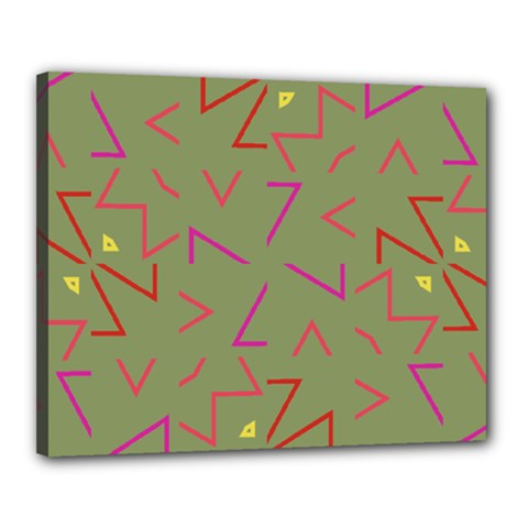 Angles Canvas 20  X 16  (stretched) by LalyLauraFLM