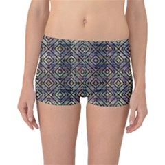 Ethnic Diamonds Boyleg Bikini Bottoms by dflcprintsclothing